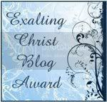 Exalting Christ Blog Award